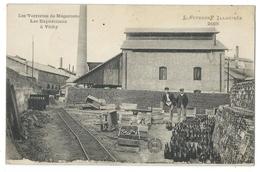 MEGECOSTE (43, Hte-Loire) Les Verreries - Expéditions à Vichy - Animé - L'auvergne Illustrée 2108 - France