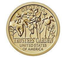 "USA, 2019 Innovation, $1 Coin ""P"" Georgia - Federal Issues"