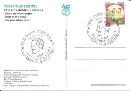 ITALIA - 1987 BOARIO TERME (BS) Funny Film Festival VITTORIO DE SICA Su Cartolina Speciale - 309 - Cinema