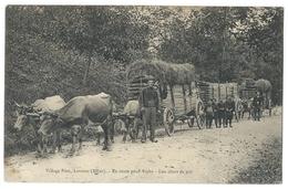 LAVOINE (Allier, 03) Village Pion - En Route Pour Vichy - Attelage Boeufs - Lou Chars De Paô - Belle Animation - Zonder Classificatie