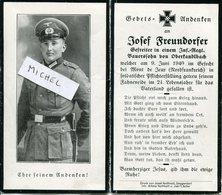 Ardennes. MONT DE JEUX. 1940. Sterbebild Avis Décès Soldat Allemand - 1939-45