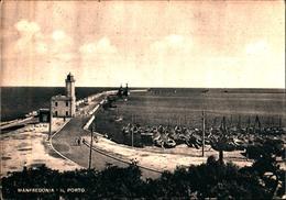 11233) CARTOLINA DI MANFREDONIA -IL PORTO-VIAGGIATA - Manfredonia