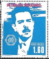 J) 1978 MEXICO, OIL INDUSTRY NATIONALIZATION, 40TH ANNIVERSARY, GEN. LAZARO CARDENAS, SCOTT C556, MN - Mexico