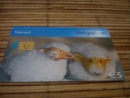Phonecard Shaapjes - Belgien