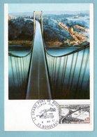 Carte Maximum 1967 - Le Grand Pont De Bordeaux - YT 1527 - 33 Bordeaux - Maximum Cards
