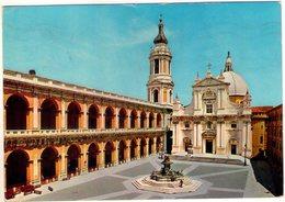 Loreto (An). Piazza Del Santuario. VG. - Ancona