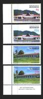 Micronesia. 2005. 1665-68. Government Buildings. MNH. - Micronesia
