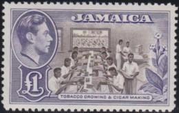Jamaica      .    SG  .     133a     .     *      .   Mint-hinged      .   /   .   Ongebruikt - Jamaica (...-1961)