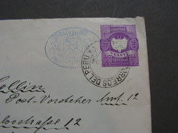Peru Cv. To Altona 1894 - Peru