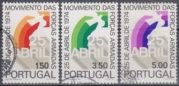 PORTUGAL1974 Nº 1246/48 USADO - Used Stamps