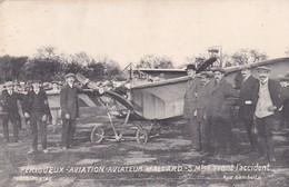 PERIGUEUX AVIATION  22.23 24 AVRIL 1911 AVIATEUR  MALLARD  5 MINUTES AVANT LO  ACCIDENT   D24 - Périgueux