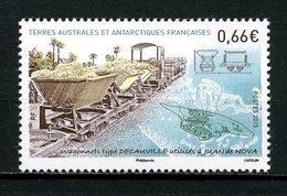 TAAF 2015  N° 736 ** Neuf MNH Superbe Trains Wagonnets Type Decauville Juan De Nova Transports - Terres Australes Et Antarctiques Françaises (TAAF)