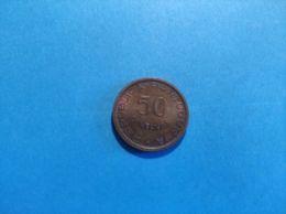 Sao Tomè E Principe 50 Centavos 1971 - Santo Tomé Y Príncipe