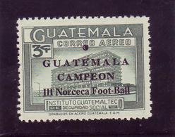 GUATEMALA  PA 369  * *  SURCHARGE  Campeon Football  Soccer Fussball - Football