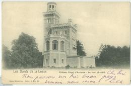 Houyet 1902; Château Royal D'Ardenne. La Tour Léopold - Voyagé. (Nels - Bruxelles) - Houyet