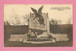 C.P. Chaudfontaine =  Monument élevé Aux Vaillants Défenseurs Du Fort  En  08.1914 - Chaudfontaine