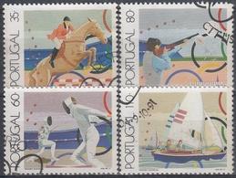 PORTUGAL1991 Nº 1858/61 USADO - 1910-... República
