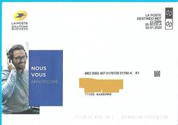 Enveloppe La Poste Solutions Business Destineo MD7 CI 2099 35 SCCE-A + Illustration - Documentos Del Correo