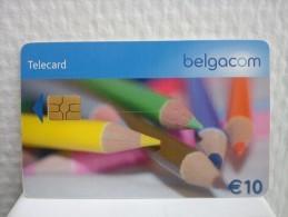 Phonecard 10 Euro Belgium Used Rare ! - Mit Chip