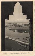 MAROC  SALE  Vue D' Une Fenêtre De La Tour Hassan ..... - Altri