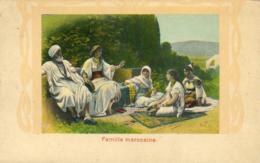 MAROC  Famille Marocaine  ..... - Maroc