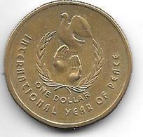 Australia 1 Dollar    1986 Km  87   Unc - Decimal Coinage (1966-...)