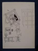 (R1)  Dessin Au Feutre Noir : We Have Been Moved By Arthur Pierre ( Nous Avons été Déplacer Par Arthur Pierre). - Autres Illustrateurs