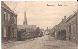 COOLSCAMP De KERKPLAATS  MILITAIRE Feldpost 1916 Fraai 1416 D4 Koolskamp - Ardooie