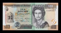 Belice Belize 10 Dollars Elizabeth II 2016 Pick 68e New SC UNC - Belize