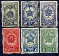 """RUSSIE - 947/952**  - MEDAILLES DE LA """"GRANDE GUERRE PATRIOTIQUE"""" - 1923-1991 USSR"""