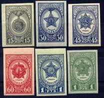 """RUSSIE - 947/952ND**  - MEDAILLES DE LA """"GRANDE GUERRE PATRIOTIQUE"""" - 1923-1991 USSR"""