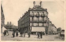 D45  ORLEANS  Rue Jean Hupeau- Les Marchés Et Le Quai Du Châtelet   ..... - Orleans