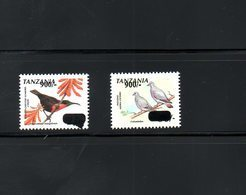 TANZANIA ,2011, BIRDS,  O/P Of NEW VALUE, 2v.MNH**RARE! - Uccelli