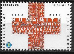2013  Belgien Belgique Mi. 4423**MNH  150 Jahre Rotes Kreuz - Belgien