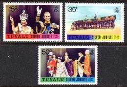 TUVALU - 1977 SILVER JUBILEE SET (3V) FINE MNH ** SG 50-52 - Tuvalu