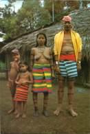 EQUATEUR  FAMILIA INDIOS COLORADOS FEMME SEINS NUS - Equateur