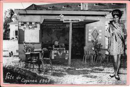 Fête De Cayenne 10 Au 20 Octobre 1968 Radio Amateur Stand Qso Carte Postale Parfait état - Cayenne