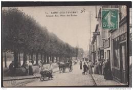 95 SAINT LEU TAVERNY Grand Rue Place Des écoles - Saint Leu La Foret