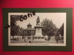 CPA LILLE Place Du Concert, Statue Du Maire André  Edition A. Verbeke, Tabacs, Début 1900,TTB - Lille