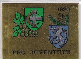 SCHWEIZ  Markenheftchen 0-74, Gestempelt, Pro Juventute 1980 - Booklets