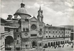 Y5231 Foligno (Perugia) - Il Duomo Cattedrale E Le Canoniche / Viaggiata 1956 - Italy