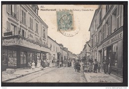 93 MONTFERMEIL Le Bureau De Tabacs Grande Rue Animée Animation - Montfermeil