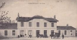 CPA/064.... LONGUEVILLE ...LA GARE - France