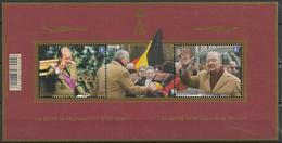 2013  Belgien Belgique Mi. Bl 175 **MNH  20 Jahre Regentschaft Von König Albert II. - Belgium