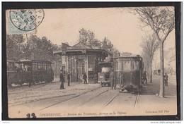 92 COURBEVOIE Station Des Tramways Animée Animation - Courbevoie