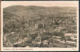 °°° 17515 - GERMANY - STUTTGART - STADT DER AUSLANDSSDEUTSCHEN - 1939 With Stamps °°° - Stuttgart
