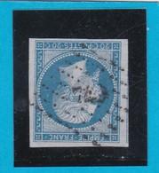 N° 14 B   PC  744   LA CHAPELLE SAINT LAURENT ( 75 )  DEUX-SEVRES   - REF 12914- IND 17 - COTE 220€ - 1853-1860 Napoleon III