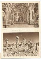 Y5237 Cassino (Frosinone) - Abbazia Di Montecassino - Interno Della Cattedrale - Com'era Com'è / Non Viaggiata - Altre Città