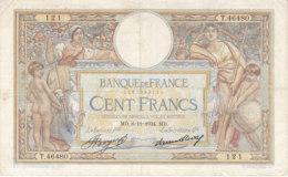 Billet 100 F L. O. Merson Du 8-11-1934 FAY 24.13 Alph. T.46480 - 1871-1952 Antichi Franchi Circolanti Nel XX Secolo
