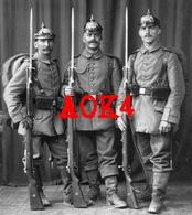WÜRTTEMBERG Ausmarsch Pickelhaube Feldgrau Gewehr 98 Seitengewehr 1914 1915 - Guerre 1914-18